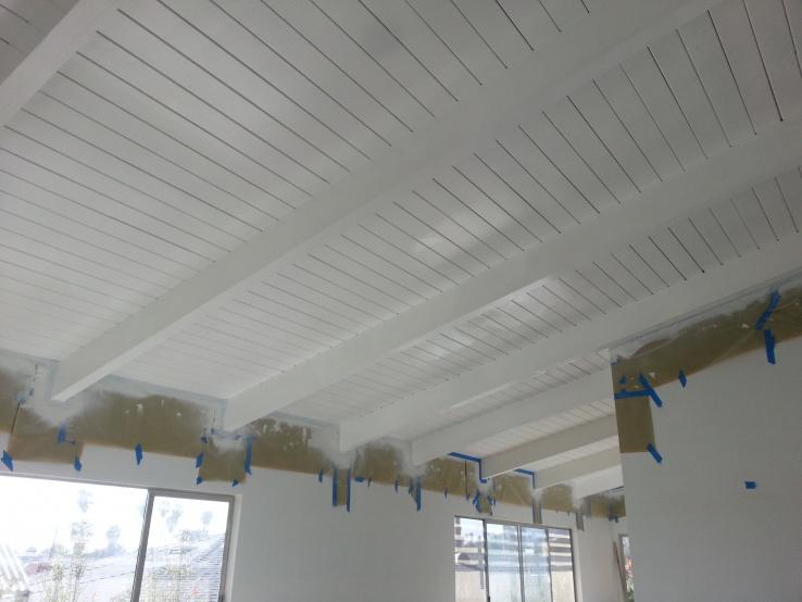 How To Prep Paint Wood Ceilings 20170224 141843 Jpg