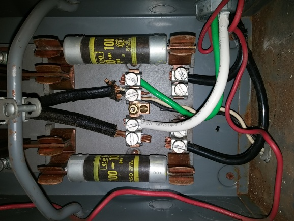 question about grounding my old main fuse panel-20141116_103745 jpg