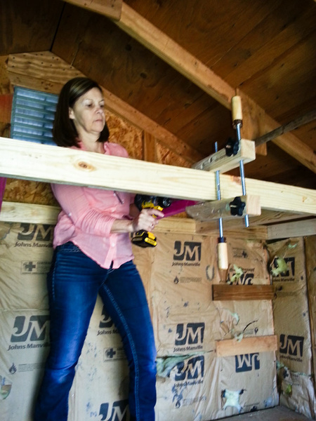 Shed Roof Without Ceiling Joists Building Amp Construction