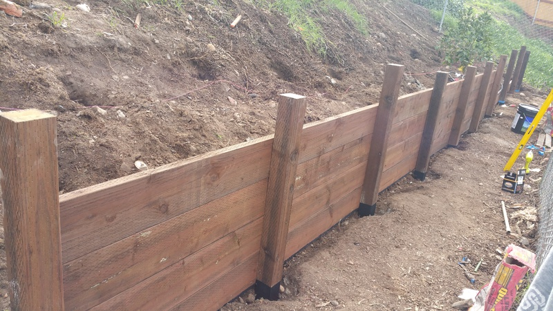 Wood Retaining Wall Help - Building & Construction - DIY ...