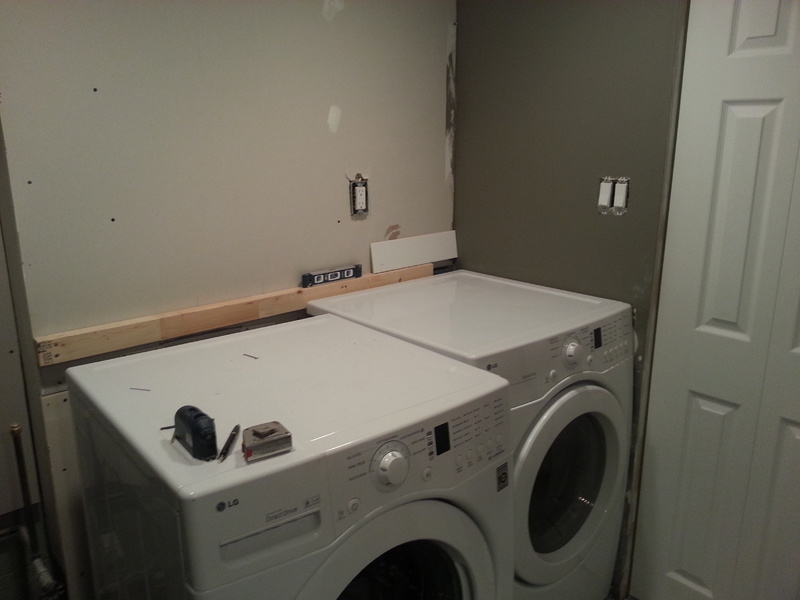 Building Washer And Dryer Countertop Carpentry Diy