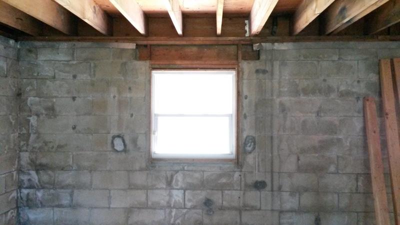 Concrete Lintel Vs Double 2x10 S Concrete Stone