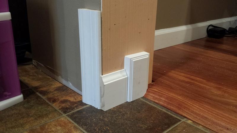 Installing trim (baseboard \u0026&; door casing)-20151001_123022.jpg ... & Installing Trim (baseboard \u0026 Door Casing) - Carpentry - DIY ...