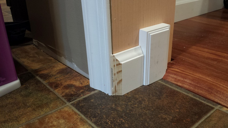 Installing Trim Baseboard Amp Door Casing Carpentry