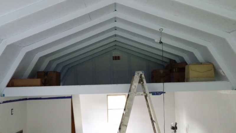 Insulating Gambrel Roof Ceiling Insulation Diy