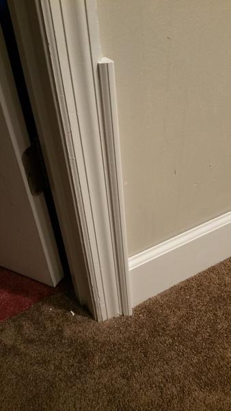 Adding Backband To Door Casing Baseboard Sizing