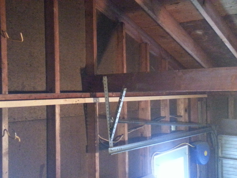 Garage Ceiling Framing Any Ideas Building