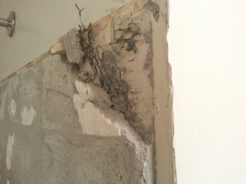 Replacing Shower Tile... Can I Reuse Cement Backing Over Wire Mesh Behind Tile?-20160207_181047.jpg