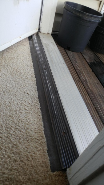 ... Door sweep/threshold issue-20160729_150737_1469822919859.jpg ... & Door Sweep/threshold Issue - Tiling ceramics marble - DIY Chatroom ...