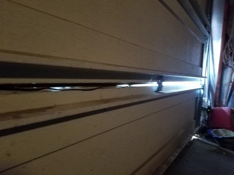 Separated Garage Door Panel Repair Windows And Doors