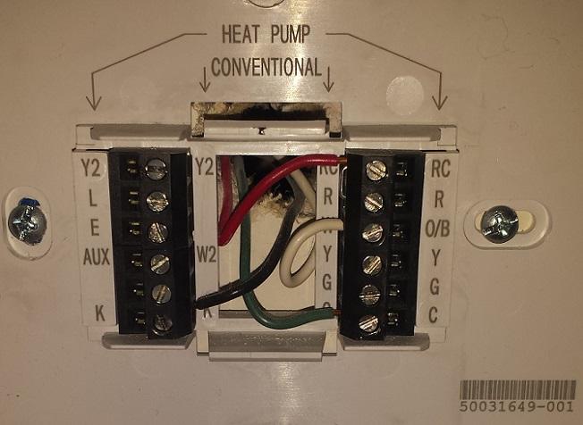 Honeywell To Ecobee3 Thermostat - Hvac