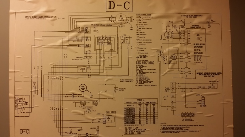 trane xe 78 furnace no blower no heat no flashing honeywell digital thermostat wiring diagram for th3110d1008 honeywell furnace thermostat wiring