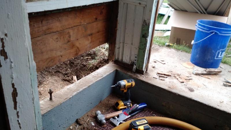 Repair Walkout Basement Foundation At Grade Building