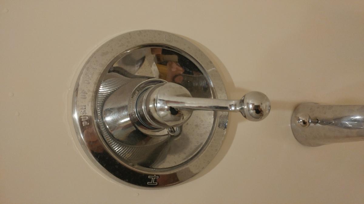 Delta 1970 Tub Faucet Leaking - Plumbing - DIY Home Improvement ...