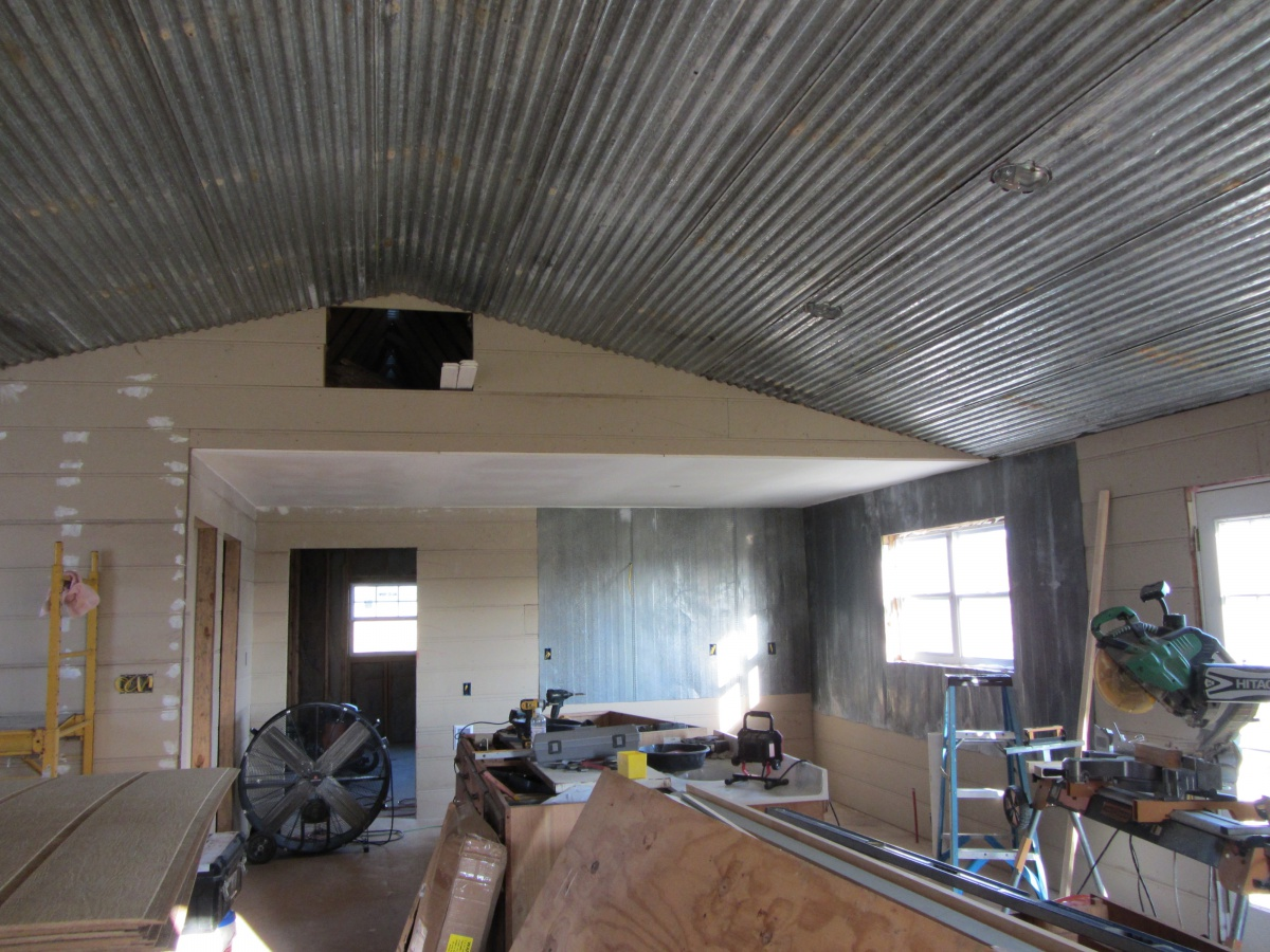 Roof Over And Converting A Mobile Church Into A Home