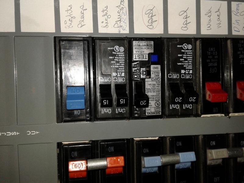 Panel   Breaker Type - Electrical