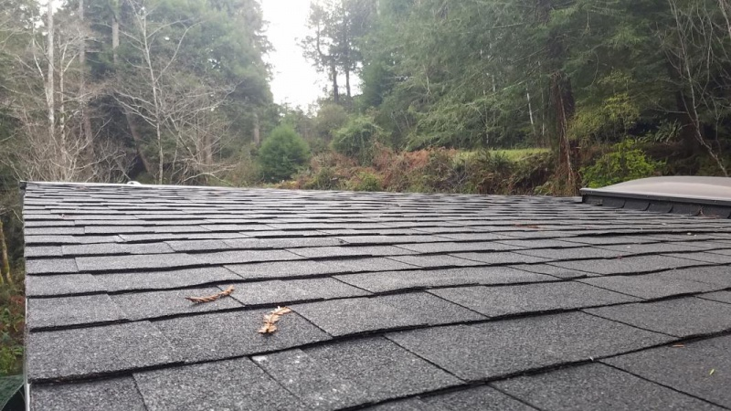 Installed New Roof In Rain Bubbles Air Mold Roofing