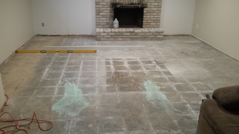 Self Leveling Compound On Concrete Flooring Diy
