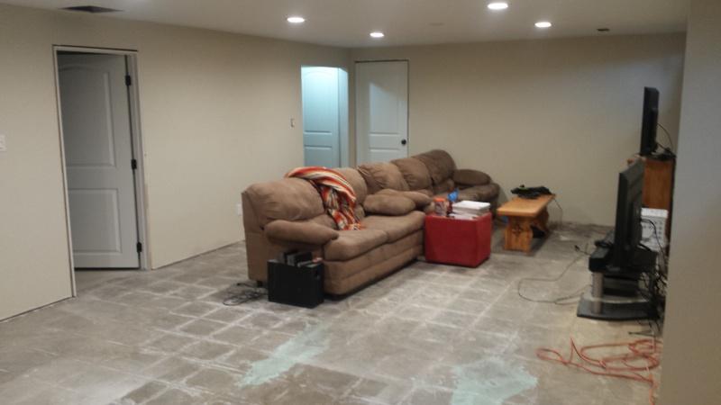 Self Leveling Siding : Self leveling compound on concrete flooring diy