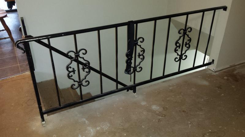 Laminate Around Guard/Stair Rail? 20170319_163212