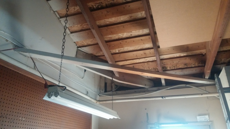 Garage Ceiling Framing - Remove Angle Ties? - Building ...