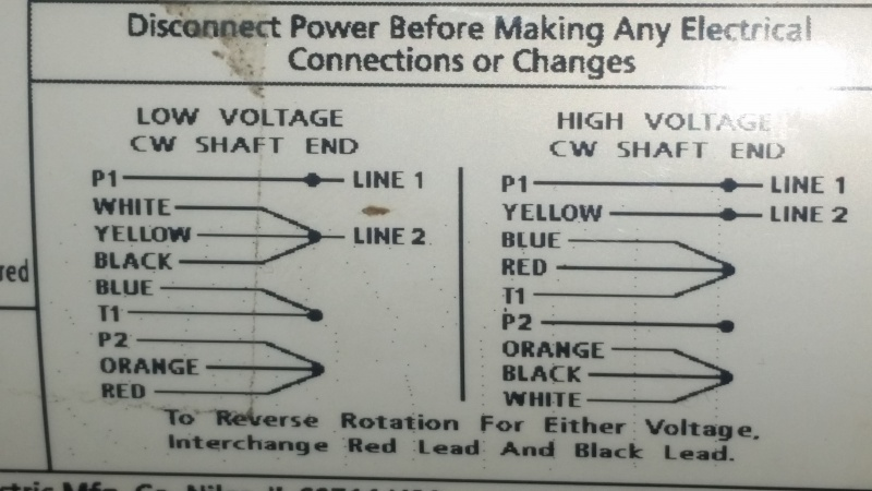 Wiring A Dpdt Switch To Reverse A 110vac Motor - Electrical