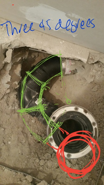 Relocating Toilet Drain Pipe - 90 and 45 degrees-20170525_161023-3.jpg