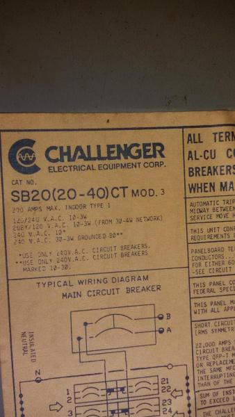 60 Amp Panel - Electrical - DIY Chatroom Home Improvement Forum