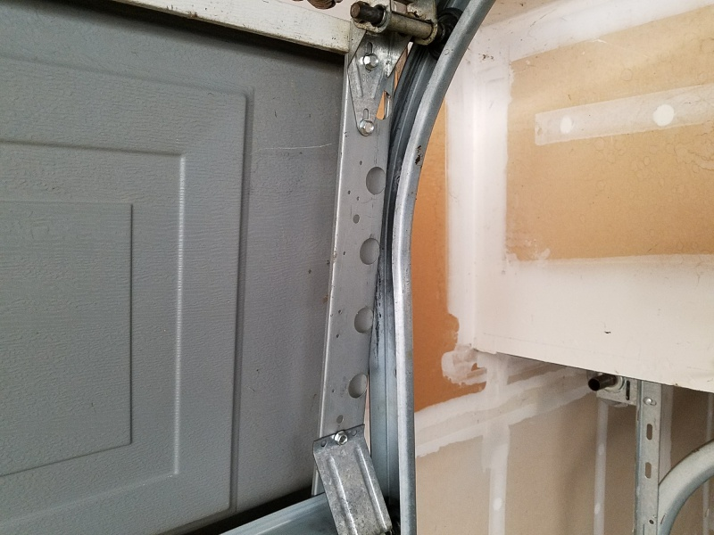 ... Garage Door jams when closing-20170702_184145.jpg ... & Garage Door Jams When Closing - Windows and Doors - DIY Chatroom ...