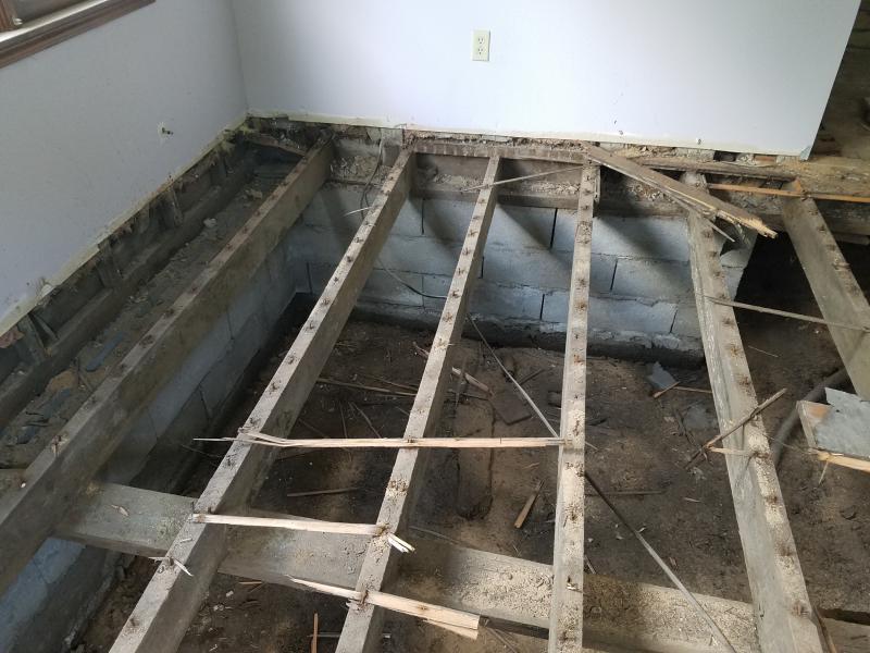 Replacing 2x6 Floor Joists - Building & Construction - DIY