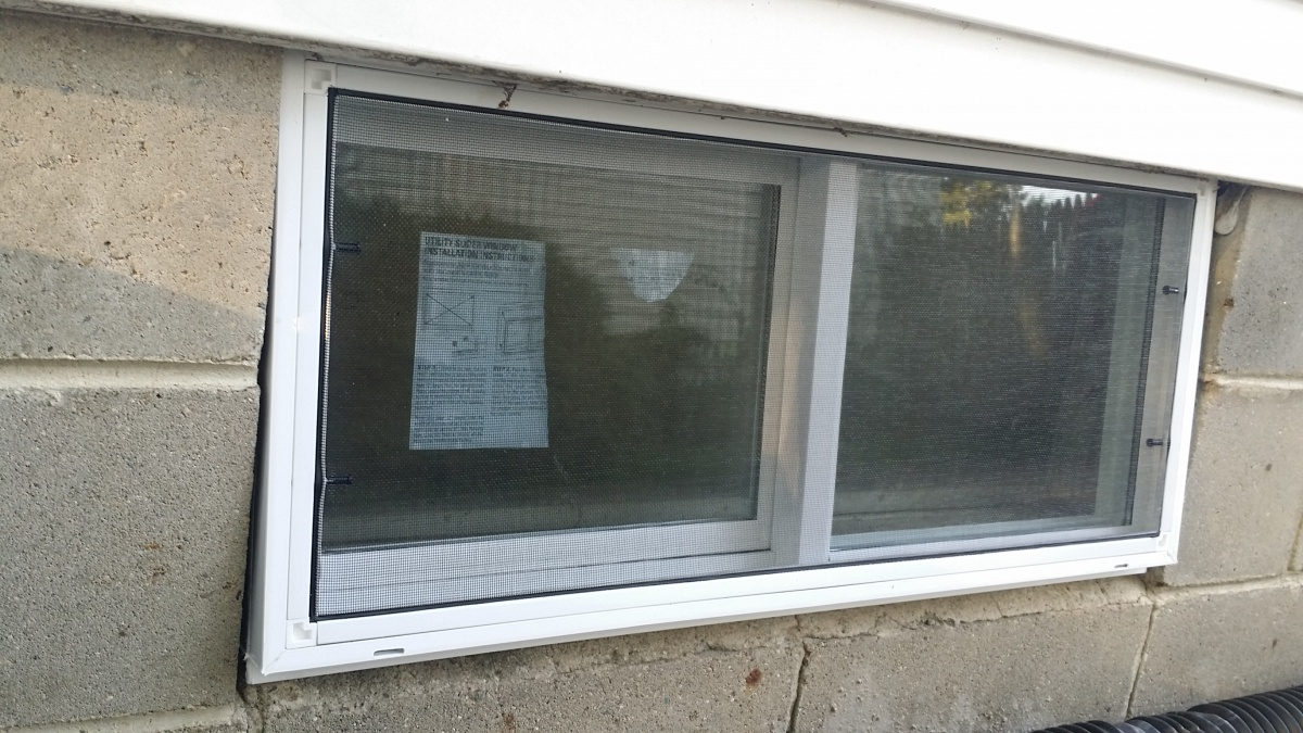 Basement windows replacement windows and doors diy for Diy window replacement