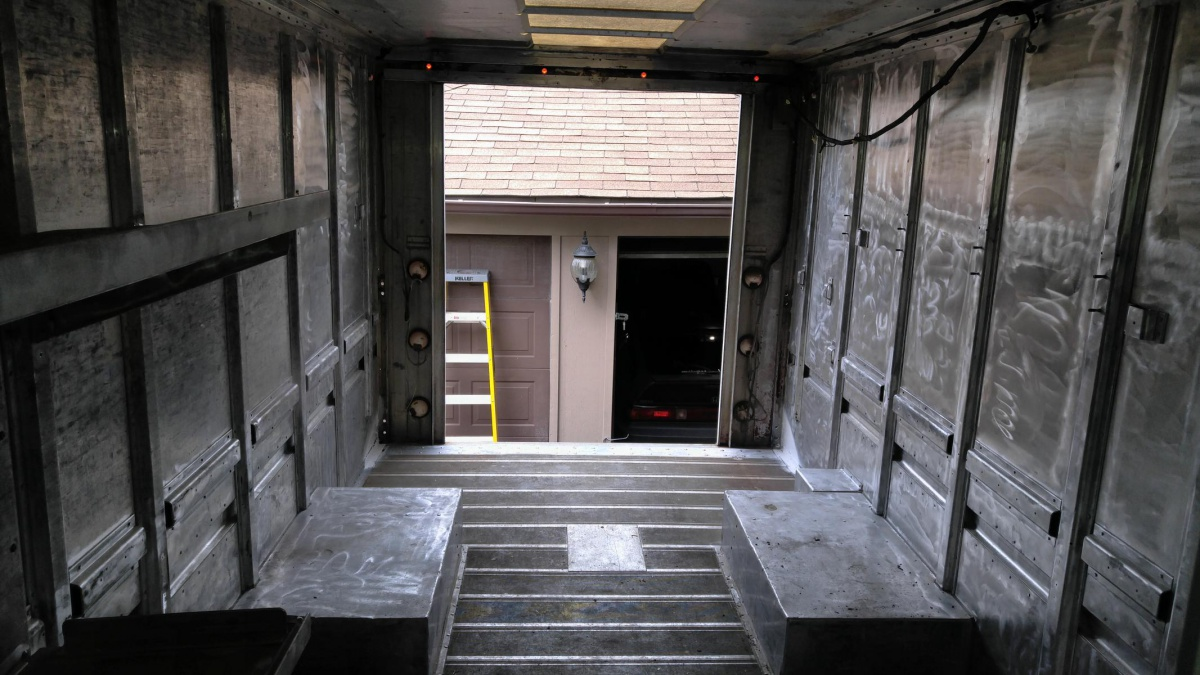 Floor And Walls In A Food Truck Skip The Plywood To Save Weight Diy Home Improvement Forum