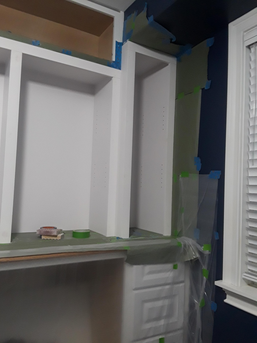Again With The Cabinet Coat Approach    - Painting - DIY