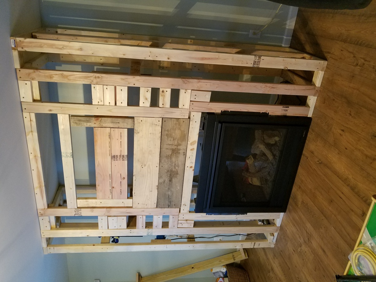 Fire Place Chase Wiring - Electrical - DIY Chatroom Home ... on