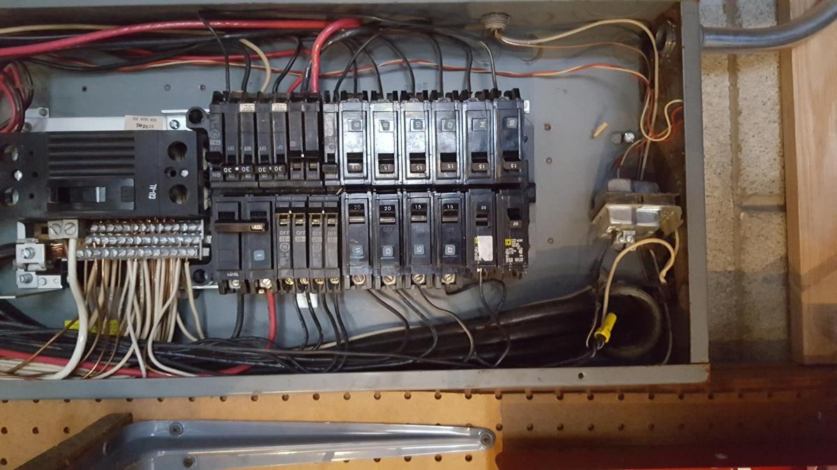 Door Bell Transformer In Main Panel - Electrical