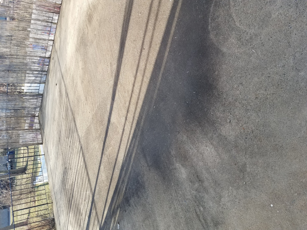 Ponding Standing Water On Concrete Patio Roof