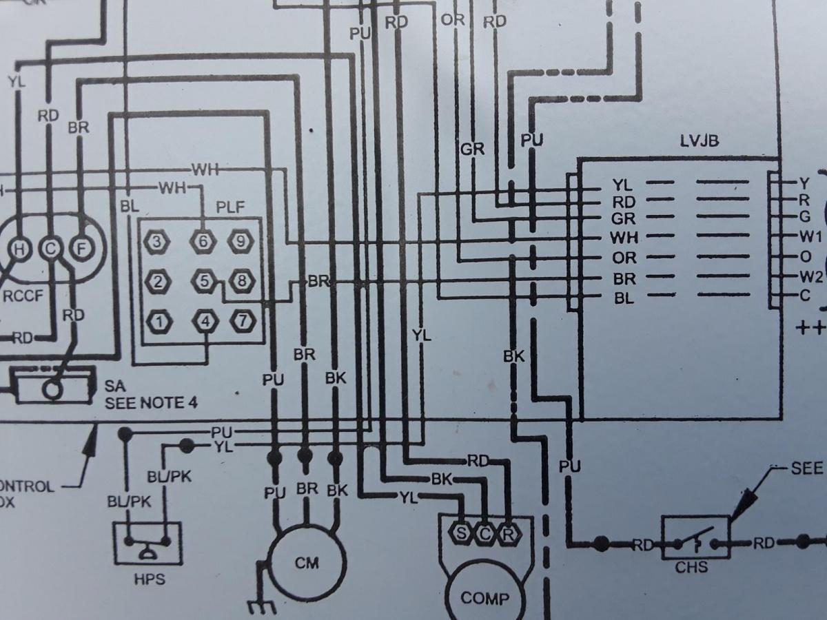Tstat Wiring Question - Hvac
