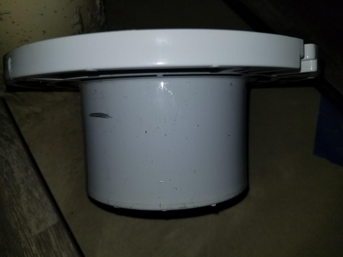 Toilet Flange On Basement Flooring And Height Plumbing
