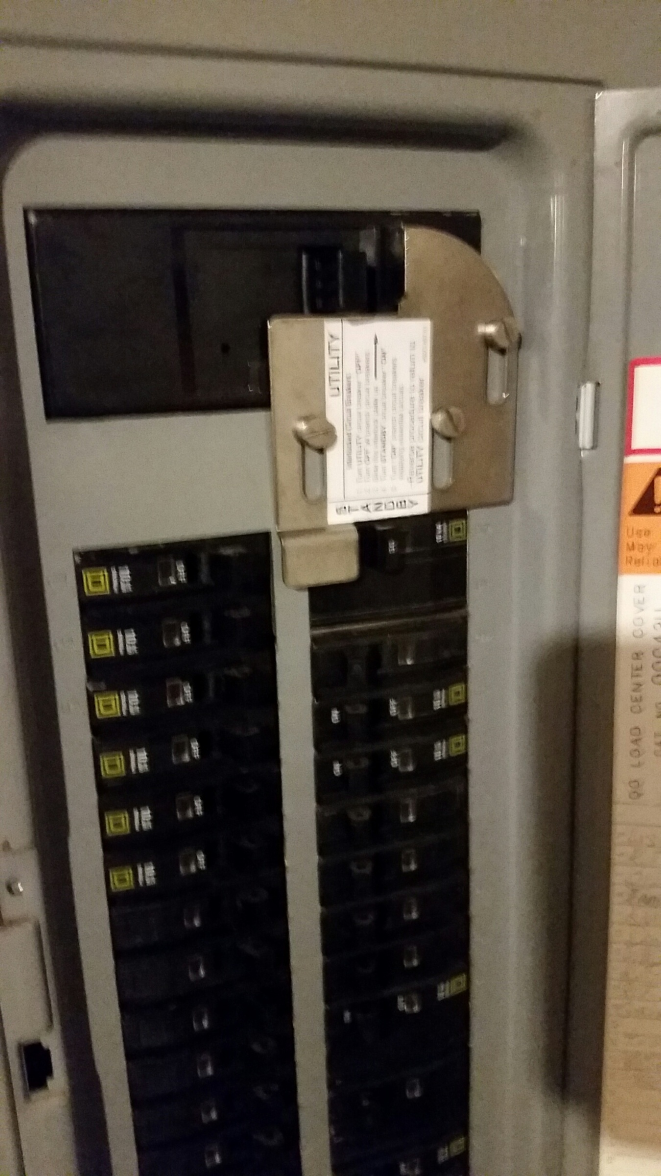 Help With Square D Homeline Main Breaker Electrical Diy Chatroom