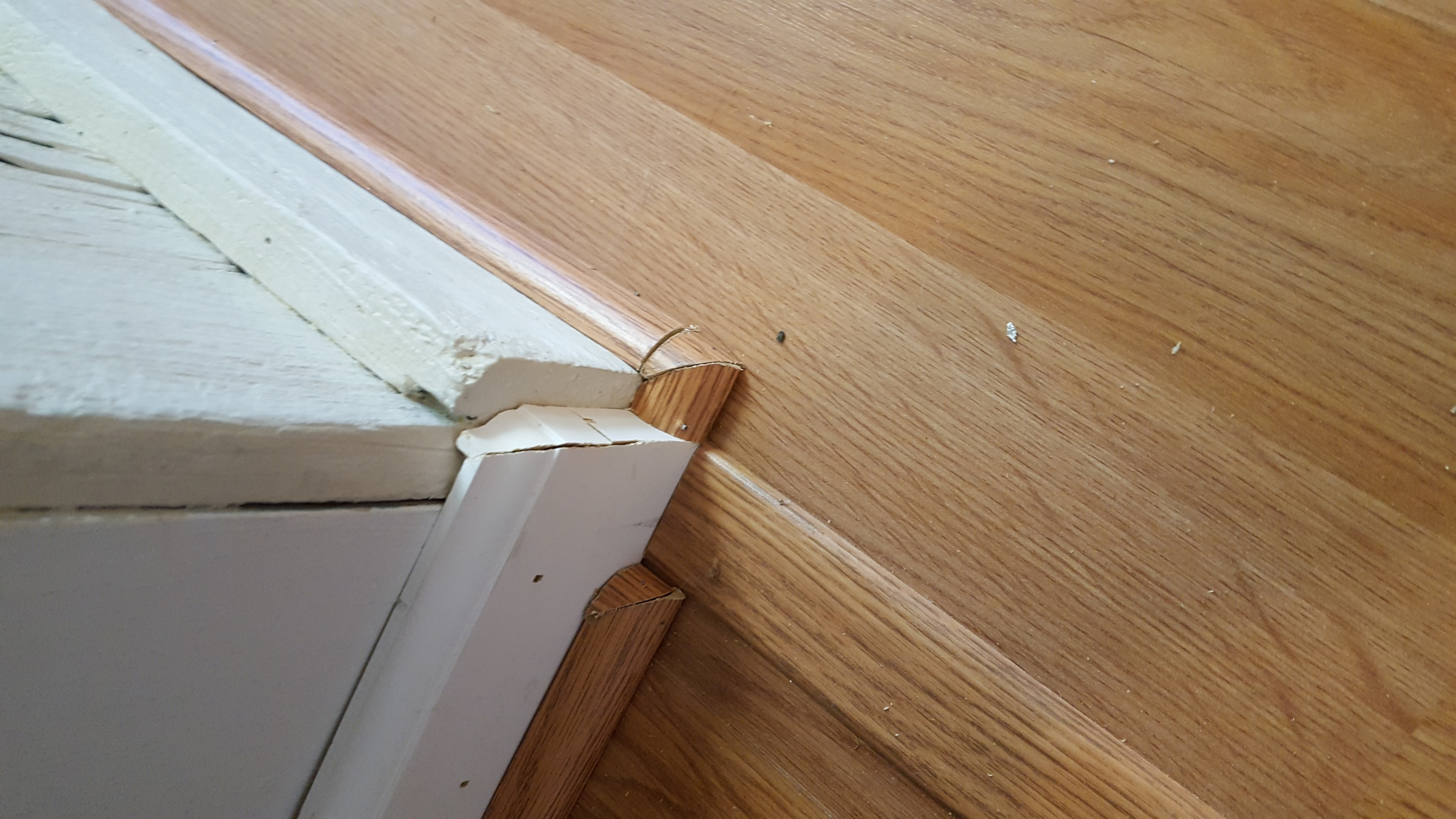 Frustrations With Flooring And Quarter Rounds In Custom Basement