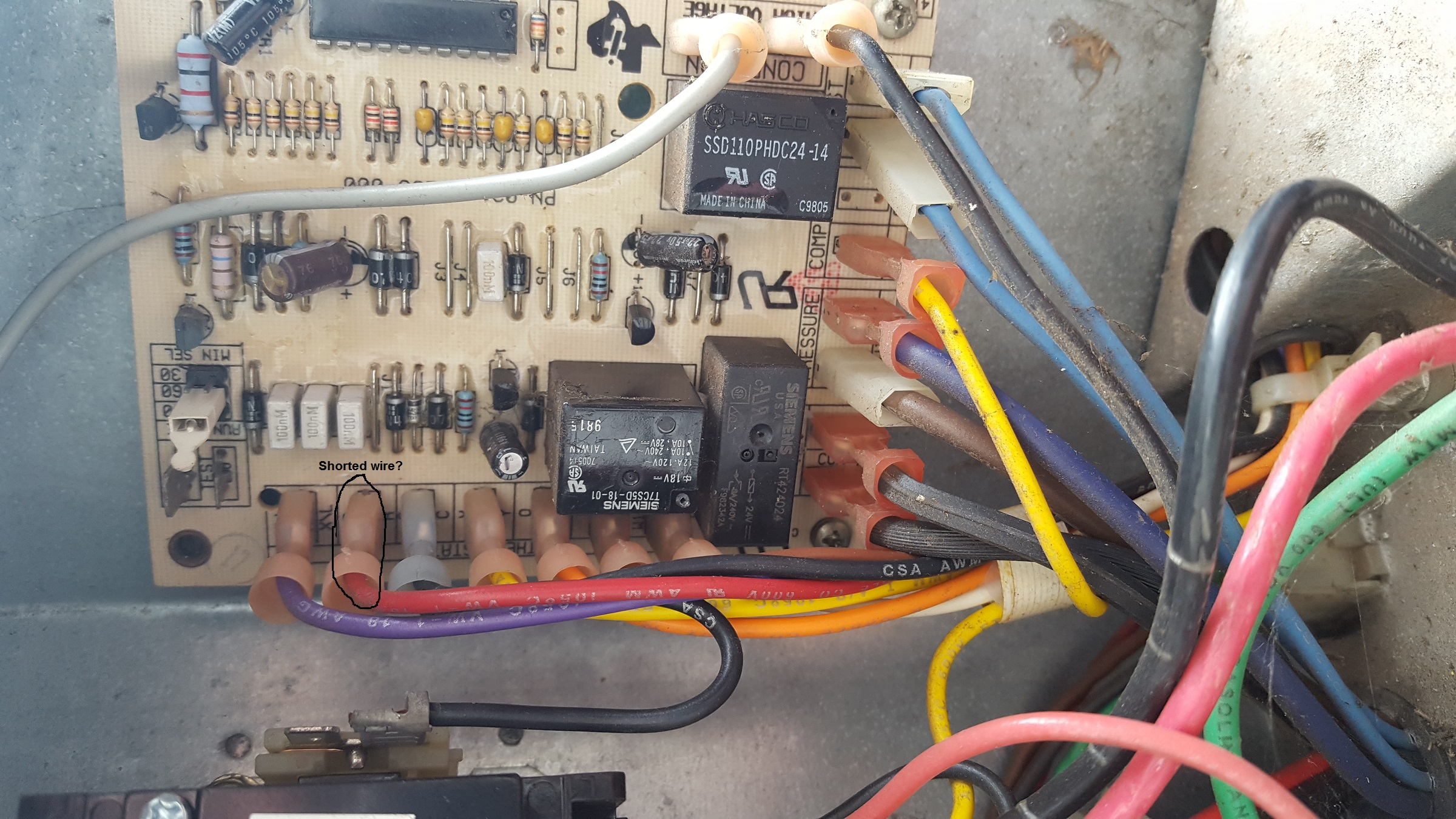 York HVAC blowing 5 amp fuse. Looking for some help please-20200310_144914.jpg