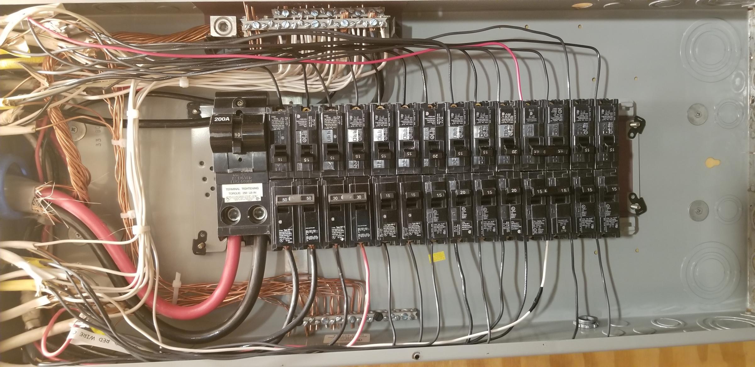 Circuit Breaker Box - Electrical