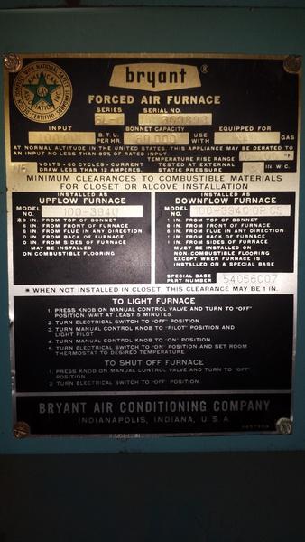 Older Bryant Furnace Wiring Diagram on