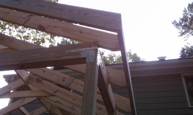 Screened Porch Corner Framing 2477145 Jpg
