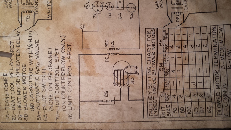 Help With An Old Bryant - HVAC - DIY Chatroom Home ...  Relay Furnace Wiring Diagram on