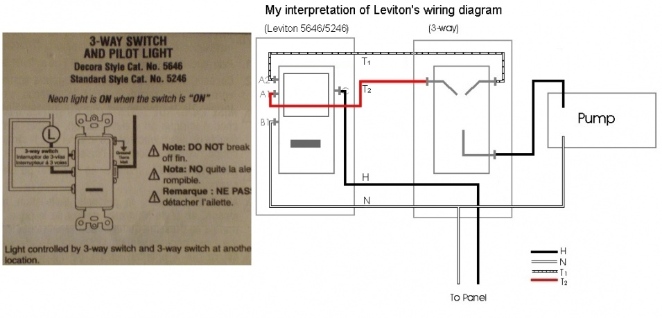 Need Help Wiring 3-way/pilot - Electrical - DIY Chatroom Home ...
