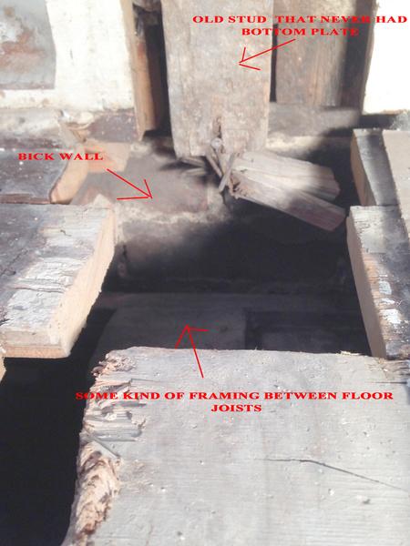 Load bearing joining at brick wall.  Studs where?-3.jpg