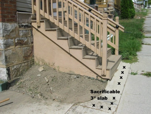 Adding exterior drain with concrete steps in way-3.jpg