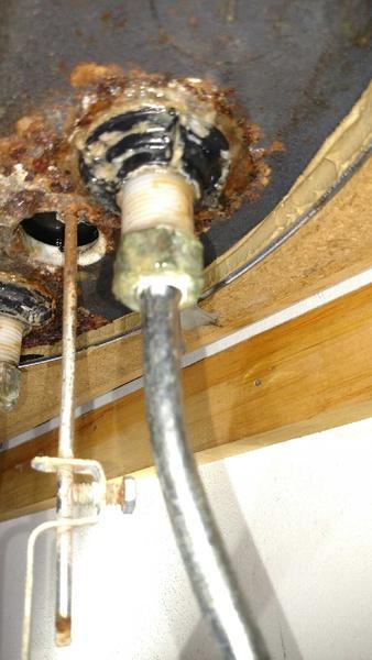 SLOW Leak/Drip In Upstairs Bathroom Sink Lines, How To Resolve?