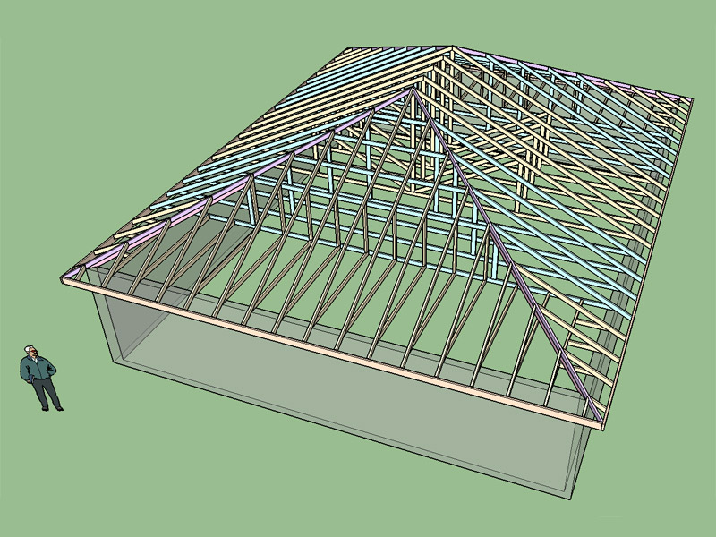 Hip Roof Framing Building Amp Construction Page 2 Diy
